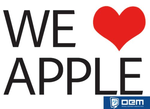 we love apple -from adobe