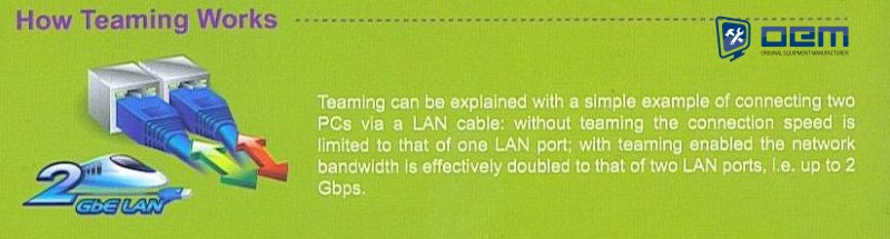 Teaming Smart LAN