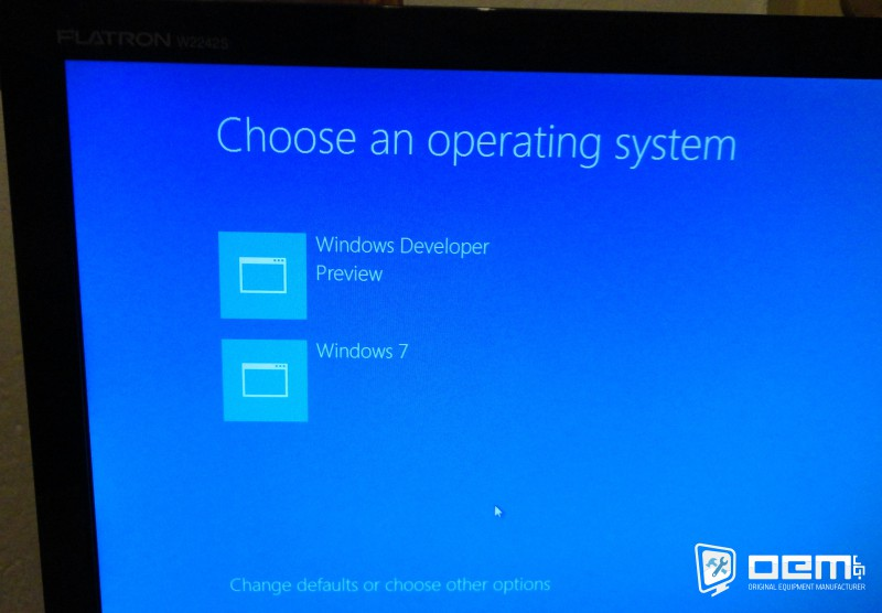 windows 8 boot manager